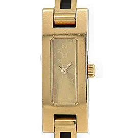 Gucci 3900L Gold Plated Gold Dial Quartz Women's Watch