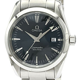 Polished OMEGA Seamaster Aqua Terra Steel Quartz Mens Watch 2518.80