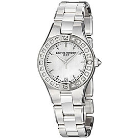Baume & Mercier Linea 10072 Stainless Steel Quartz Womens 32mm Watch