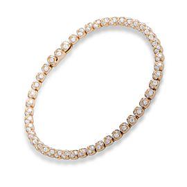 Fred of Paris Pain De Sucre Célébration 18K Rose Gold with 3.70ctw. Diamond Tennis Bracelet