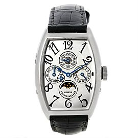 Franck Muller Casablanca 5850 QP Platinum Automatic 32mm Mens Watch