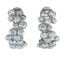 Fred of Paris Neige 18K White Gold Diamond Clip-on Earrings