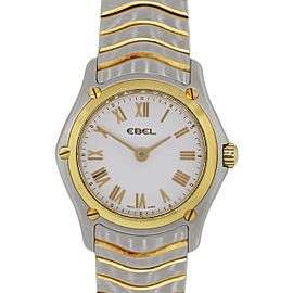 Ebel Wave Two Tone Ladies Watch