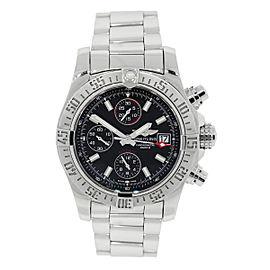Breitling Avenger II Chronomat GMT AB041210 43mm Mens Watch