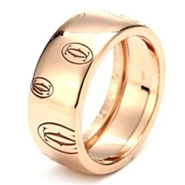 Cartier B4051253 18k Rose Gold Band Ring