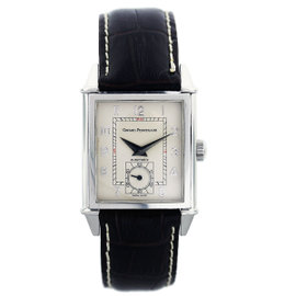 Girard Perregaux Stainless Steel & Leather Automatic 30mm Mens Watch