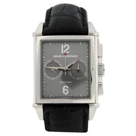 Girard Perregaux 2599 18K White Gold & Leather 32mm Watch