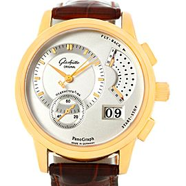 Glashutte PanoGraph 61-03-25-15-04 Manual 18K Yellow Gold 39.4mm Mens Watch