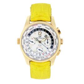Girard Perregaux Worldtimer 49805 18K Rose Gold 43mm Mens Watch