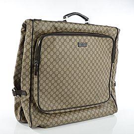 Gucci Brown Supreme GG Garment Bag 122ggs23
