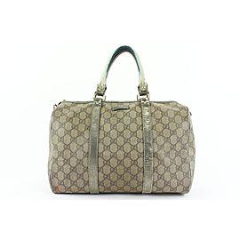 Gucci Monogram Supreme GG Joy Boston Bag 176gks53