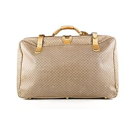Gucci Monogram GG Micro Logo Suitcase Luggage Bag 398ggs226