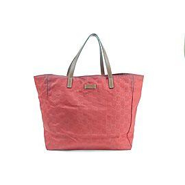 Gucci Bag 234858 Red Nylon Tote