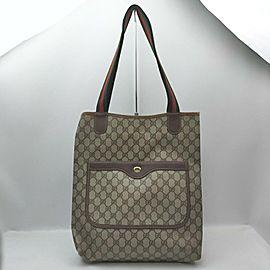Gucci Large Supreme Web Shopping Tote Bag 862520