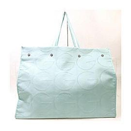 Gucci Large Blue GG Logo Tote Bag 863498
