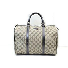 Gucci Brown Supreme GG Joy Boston Bag 862639