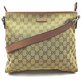 Gucci Pink x Brown Monogram GG Messenger Bag 862318