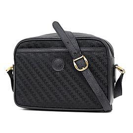 Gucci Micro Gg Monogram Cross Body 234567 Black Messenger Bag