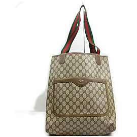 Gucci Web Supreme GG Large Shopping Tote Bag 862391