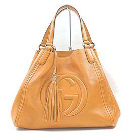 Gucci Orange Soho Tote Bag 862705