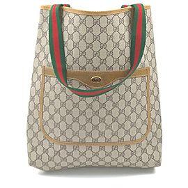 Gucci GG Supreme Web Shopping Tote bag 862585