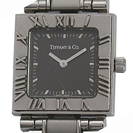 Tiffany & Co. Atlas Stainless Steel Quartz 23mm Womens Watch