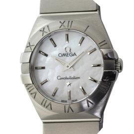 Omega Constellation 123.10.24.60.05.001 Stainless Steel Quartz 24mm Womens Watch