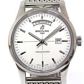 Breitling Transocean A45310 43mm Mens Watch