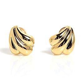 Tiffany & Co. 18K Yellow Gold Clip Earrings