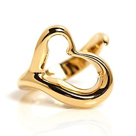 Tiffany & Co. Elsa Peretti 18K Yellow Gold Open Heart Ring