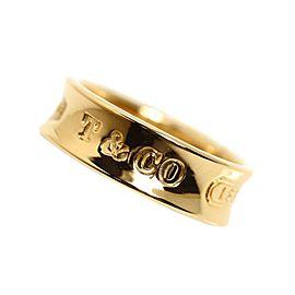 Tiffany & Co. 1837 18K Yellow Gold Narrow Ring