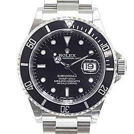 Rolex Submariner 16610 40mm Womens Watch
