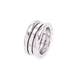 Bulgari B-Zero White Gold Ring Size 4