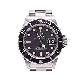Rolex Submariner 16800 40mm Womens Watch