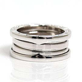Bulgari B-Zero 18K White Gold Ring Size 6.5