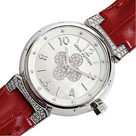 Louis Vuitton Tambour Q1212 28mm Womens Watch
