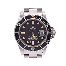 Rolex Submariner 16800 40mm Womens Watch