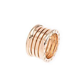 Bulgari B-Zero Yellow Gold Ring Size 6.5