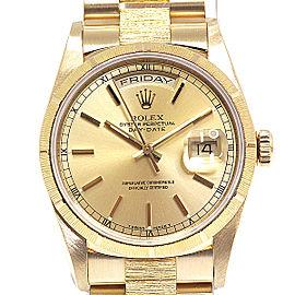 Rolex Date 18238 36mm Womens Watch
