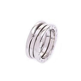 Bulgari B-Zero White Gold Ring Size 6.5