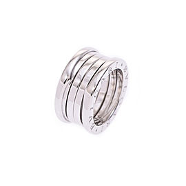 Bulgari B-Zero White Gold Ring Size 5