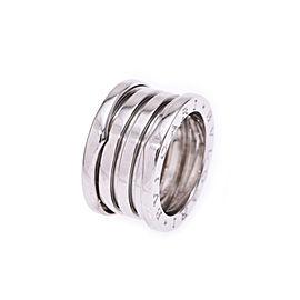 Bulgari B-Zero White Gold Ring Size 5.5