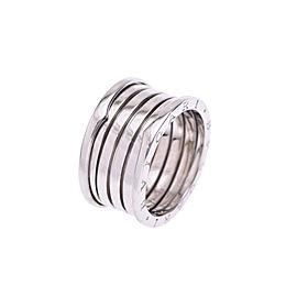 Bulgari B-Zero White Gold Ring Size 11.5