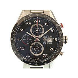 Tag Heuer Chronograph Carrera CAR 2 A 10 43mm Womens Watch