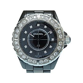 Chanel J12 38mm Womens Watch