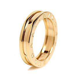 Bulgari B-Zero 18K Yellow Gold Ring Size 6