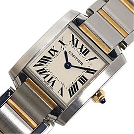 Cartier Tank W51007Q4 20mm Womens Watch