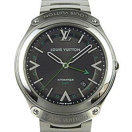 Louis Vuitton Fifty Five GMT Q6D30 41mm Mens Watch