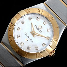 Omega Constellation 123.20.24.60.55.002 24mm Womens Watch