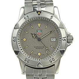 Tag Heuer Professional WA1211 38mm Mens Watch